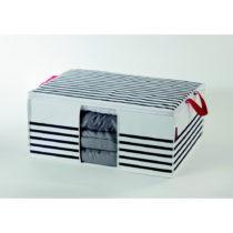 Úložná škatuľa na oblečenie Compactor Stri...