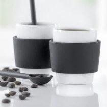 Sada 2 šálok na espresso Steel Function Milano, 100 ml