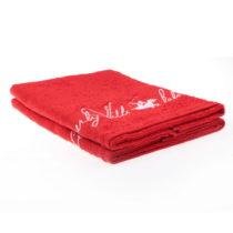 Sada 2 červených uterákov Beverly Hills Polo Club Tommy Yazi, 50&#xA...