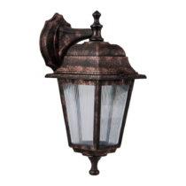 Nástenné vonkajšie svietidlo bronzovej farby Montmarte