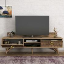 TV komoda v orechovom dekore Yakamoz