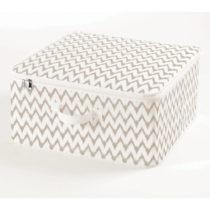 Textilný zapínací box Compactor Clear