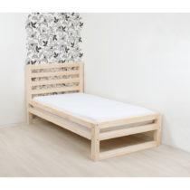 Drevená jednolôžková posteľ Benlemi DeLuxe Natura, 19...