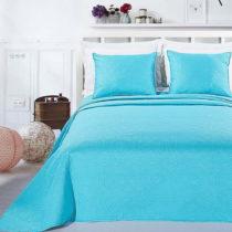 Tyrkysová posteľná sada z mikrovlákna DecoKing Elodie, 240&...