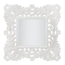 Zrkadlo v dekoratívnom ráme Mauro Ferreti Eiffel, Ø 75 cm