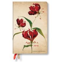 Denný diár na rok 2019 Paperblanks Gloriosa Lily, 9,5×&#xA0...