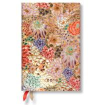 Diár na rok 2019 Paperblanks Kikka Verso, 9,5 x 14 cm