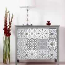 Sada 30 samolepiek na nábytok Ambiance Tiles Stickers For Furniture Cineloto, 15&...