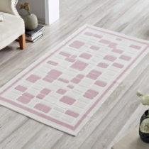Koberec Pink Tiles, 100 x 150 cm