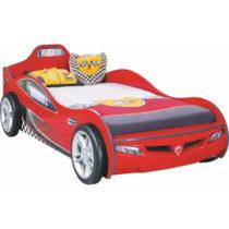 Červená detská posteľ v tvare auta Coupe Carbed Red, 90 &#...