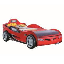 Červená detská posteľ v tvare auta Race Cup Carbed Red, 90 &am...