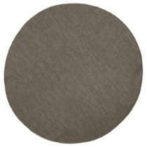 Hnedý obojstranný koberec Bougari Miami, Ø 140 cm