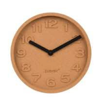 Korkové nástenné hodiny Zuiver Cork