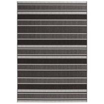 Čierny koberec vhodný aj do exteriéru Bougari Strap, 120 × 170 ...