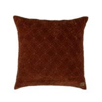 Tmavočervený bavlnený vankúš BePureHome Cherish, 50 &...