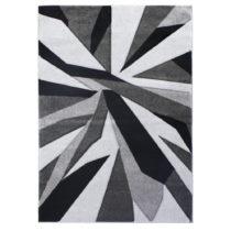 Čierno-sivý koberec Flair Rugs Shatter Black Grey, 120×&#x...