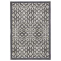 Sivo-biely koberec Hanse Home Gloria Tile, 80 × 200 cm