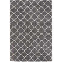 Sivo-biely koberec Mint Rugs Grace, 80 × 150 cm
