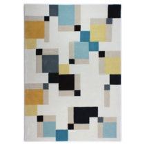 Modrý koberec Flair Rugs Illusion Abstract Blocks, 120×170&...