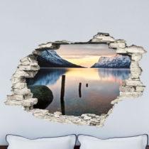 Samolepka Ambiance Landscape Lake