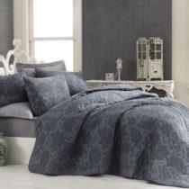 Prešívaný pléd cez posteľ s 2 obliečkami na...