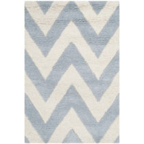 Svetlomodrý vlnený koberec Stella Light Blue, 91×152 ...