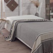 Prikrývka na posteľ Elmas Anthracite, 200x240 cm
