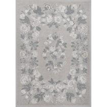 Sivý vzorovaný obojstranný koberec Narma Lihula, 200×&...