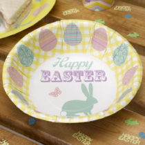 Sada 8 papierových mís Neviti Happy Easter