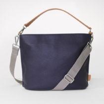 Tmavomodrá taška s uškom cez rameno Caroline Gardner Finsbury Fashion B...