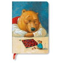 Linkovaný zápisník s tvrdou väzbou Paperblanks Your Move, 12 x 1...