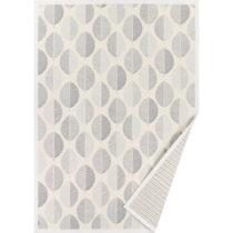 Biely vzorovaný obojstranný koberec Narma Pärna, 140×&...