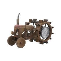 Kovové stolové hodiny Mauro Ferretti Tractor