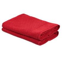 Sada 2 červených uterákov zo 100% bavlny Mosley, 50×&...