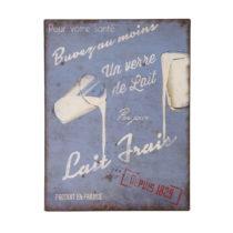 Ceduľa Antic Line Lait Frais, 25x33cm