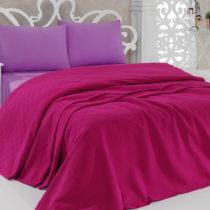 Prikrývka na posteľ Pique Magenta, 200×240...