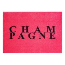 Ružová rohožka Mint Rugs StateMat Champagne, 50 × 75 cm