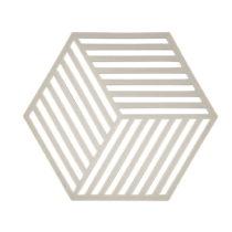 Podložka pod horúce Hexagon, svetlosivá