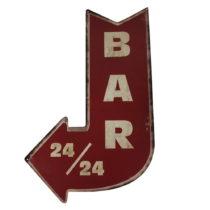 Ceduľa Antic Line Bar 24/24