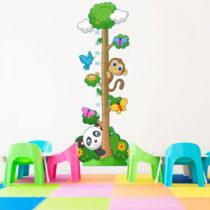 Detský samolepiaci meter Ambiance Panda