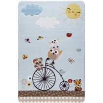 Detský koberec Kids Bike, 100×150 cm