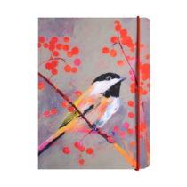 Linkovaný zápisník A6 Carolyn Carter by Portico Designs, 80 strá...