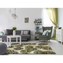 Zelený koberec Universal Tropics Multi, 140 × 200 cm