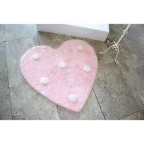 Kúpeľňová predložka Poni Pink, Ø9...