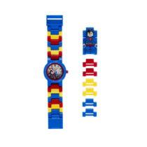 Hodinky s figúrkou LEGO® DC Super Heroes Superman