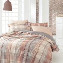 Set posteľnej bielizne z bavlneného saténu pre pár Abbot