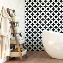 Sada 60 nástenných samolepiek Ambiance Wall Decal Cement Tiles Aniello, 20&#xA...