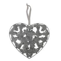 Závesné dekoratívne srdce Antic Line Romance III