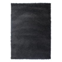 Tmavosivý koberec Flair Rugs Cariboo Charcoal, 80×150 cm