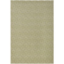 Zelený koberec vhodný aj do exteriéru Karo, 200×&#...